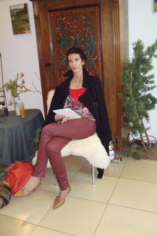Carmen Blom liest Gedicht in bairischer Mundart & Schriftsprache zur Berchinger Literaturwoche 2013